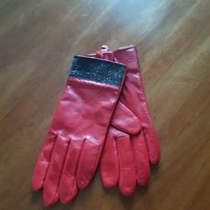 Lauren by Ralph Lauren leather gloves